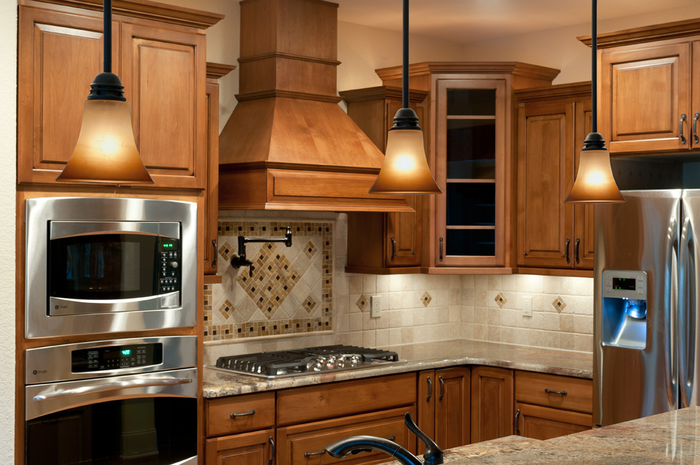 craftsman style homes kitchen