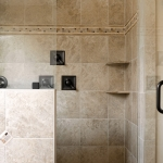 craftsman style homes master bathroom shower