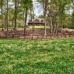 custom built homes pasture view