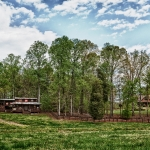 custom built homes barn & wooded lot