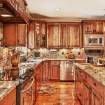 custom built homes kitchen cabinetry