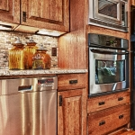 custom built homes kitchen appliances