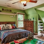 custom built estate homes kids boys room