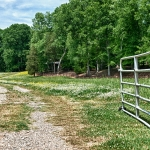 custom built homes pasture entrance