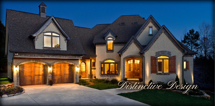 A Distinctive Design on a cobble creek custom home
