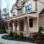 craftsman style homes angle view
